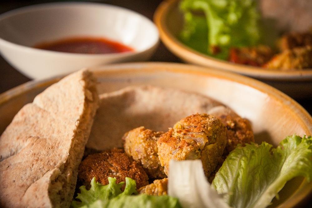 Beignets de pois chiche cuisine v gane pour d butant e - Cuisine thai pour debutants ...