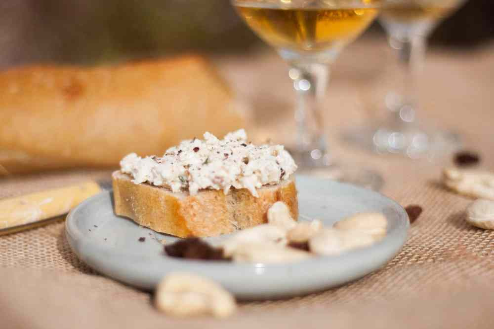 Tartinade cajou (fromage végétal)