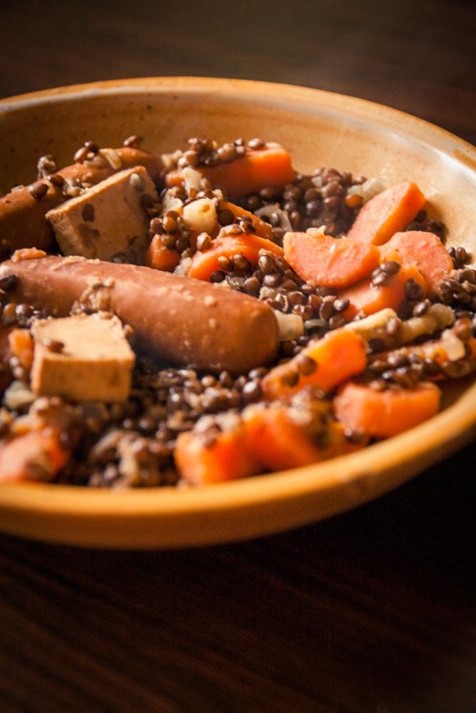 Petit sal aux lentilles v gane cuisine v gane pour - Cuisine thai pour debutants ...