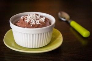 Crème/mousse au chocolat végane tofu soyeux cuisine végane pour débutant recette vegan facile