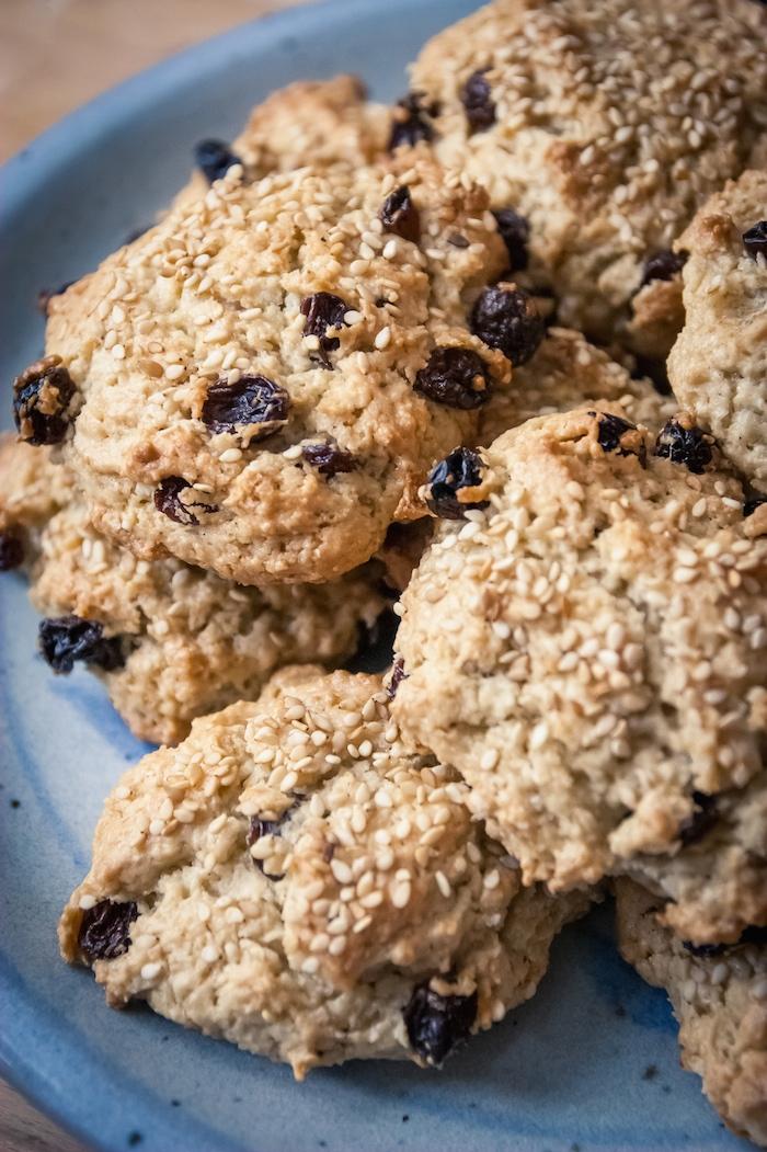 Cookies v ganes au tahin et raisins cuisine v gane pour - Cuisine thai pour debutants ...