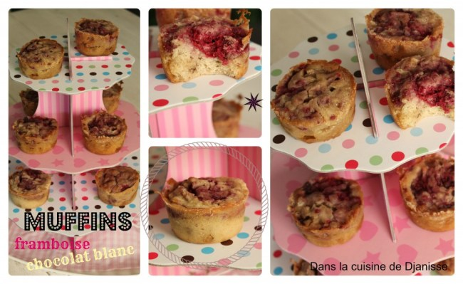 muffins choco framboises