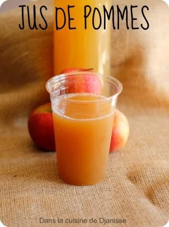 Jus de pommes au TM