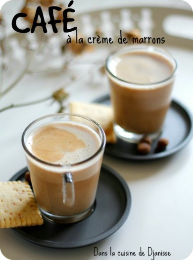 Café à la crème de marrons
