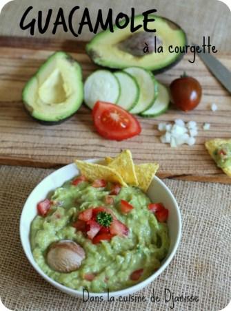 Guacamole de courgettes - Vegan et sans gluten