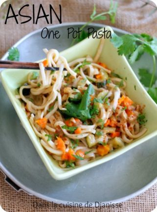 One pot pasta asian