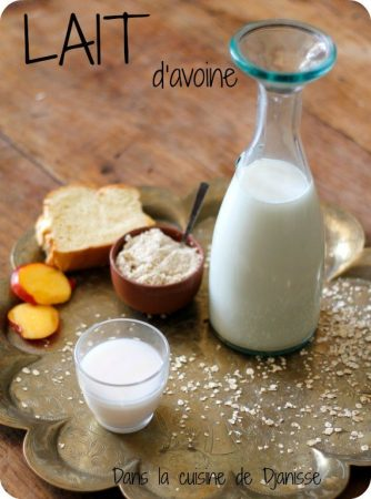 Oat vegan raw milk {gluten free}