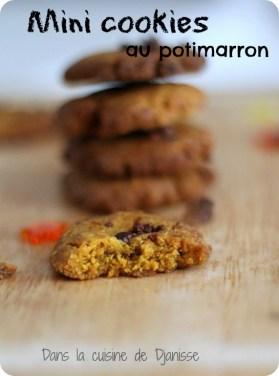 Mini vegan and gluten free cookies
