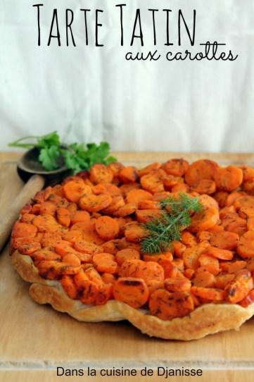 Tarte tatin de carottes
