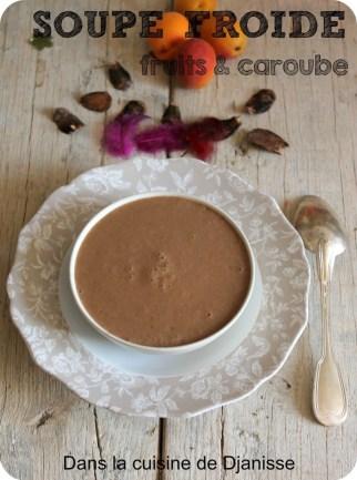 Soupe à la caroube