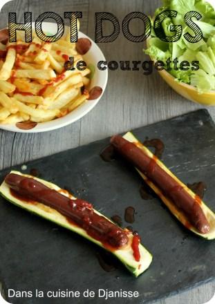 hot dogs vegan de courgettes cuisine v g talienne. Black Bedroom Furniture Sets. Home Design Ideas