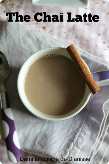 Thé chai latte
