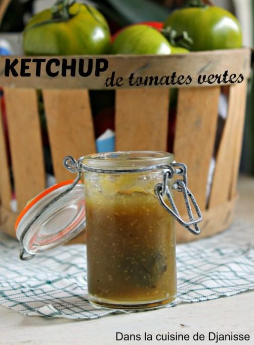 Ketchup de tomate verte