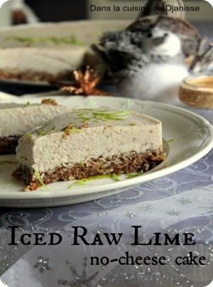 Lime Cheesecake vegan