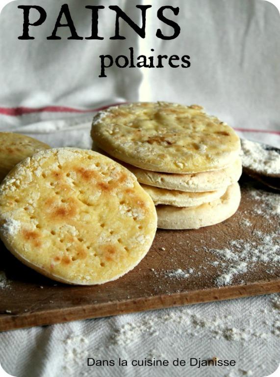 Petits pains polaires, sans gluten