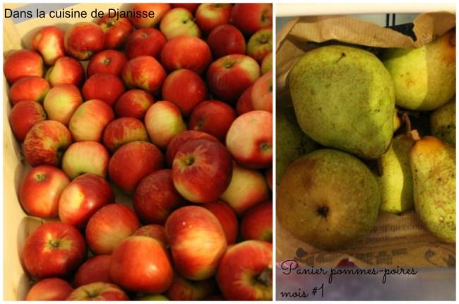 Panier pommes mois 1