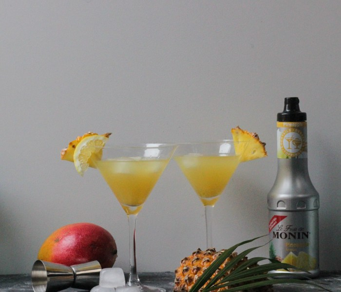 Cocktail Mangue-Ananas🍹