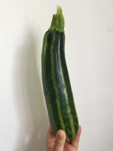 Brownie courgette