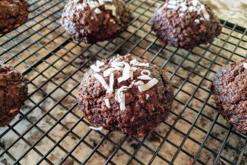 chocolate coconut muffin tops