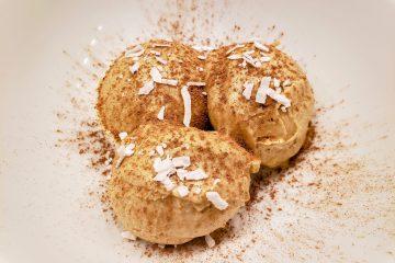 Peanut butter nice cream