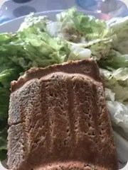 croque monsieur salade