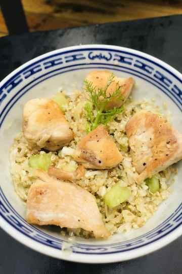 Salade de fenouil et quinoa