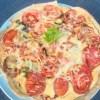 Quiche tomate courgette