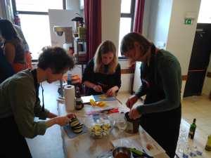 cuisiner en équipe