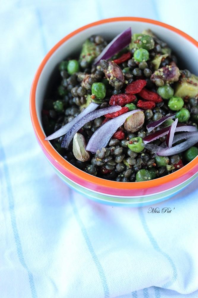 Salade de lentilles2 blog miss pat