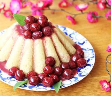 Gâteau de riz aux cerises - priméal