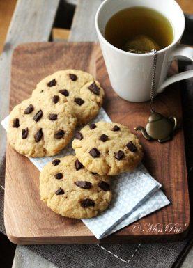 Cookies vegan aux pépites de chocolat misspat blog