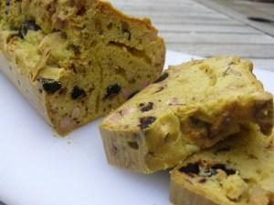 Cake aux olives à la vapeur