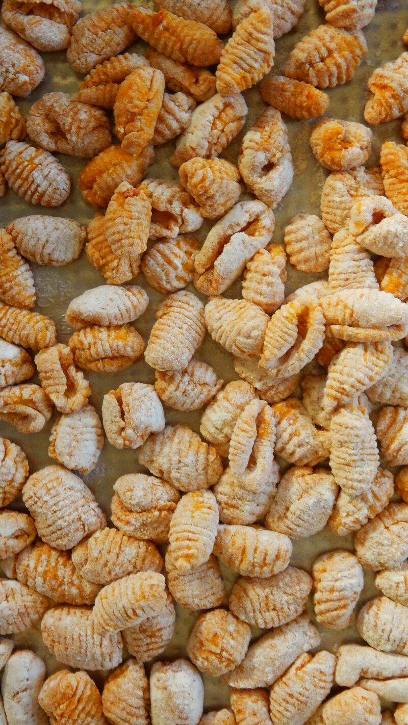 ñoquis de zapallo gnocchi calabaza