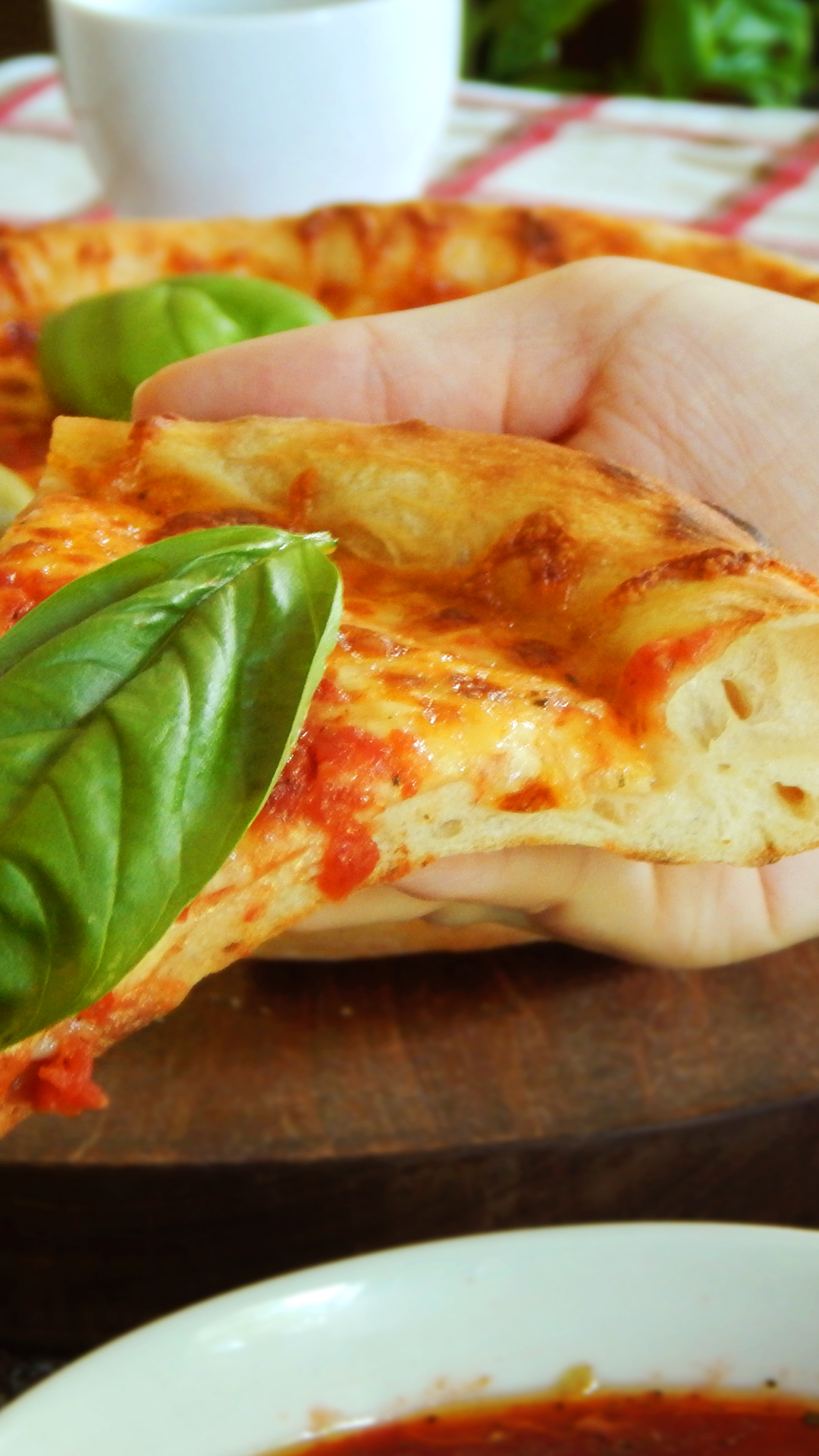 pizza napolitana napoletana sin amasar