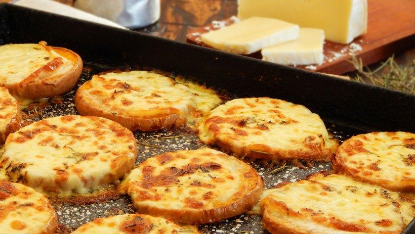calabaza al horno con queso