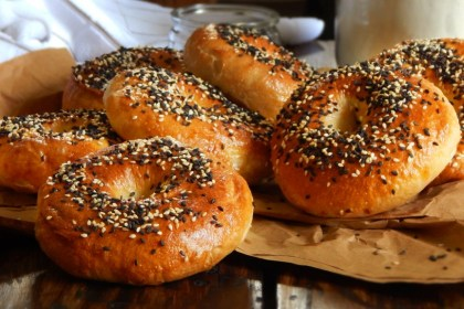 bagel bagels pan new york