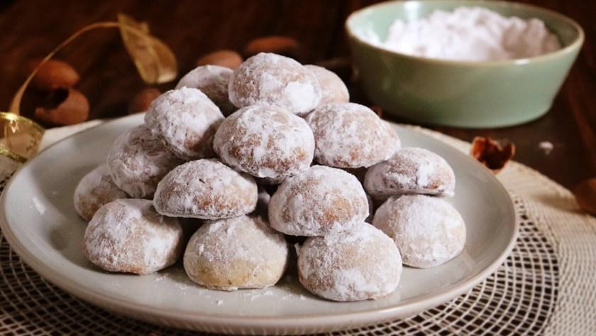 galletas de nuez besos pecan