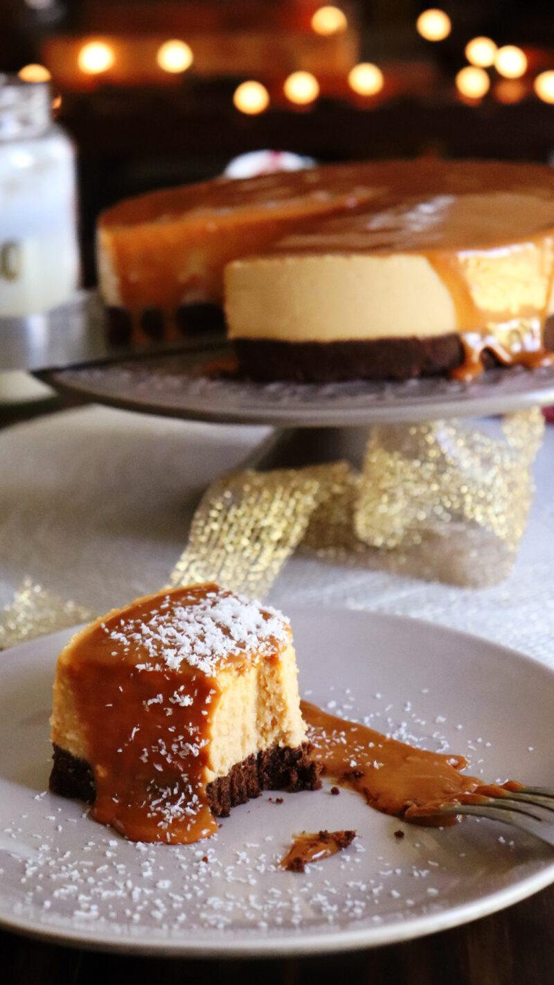 cheesecake dulce de leche sin horno queso crema