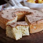 torta de peras bizcochuelo canela