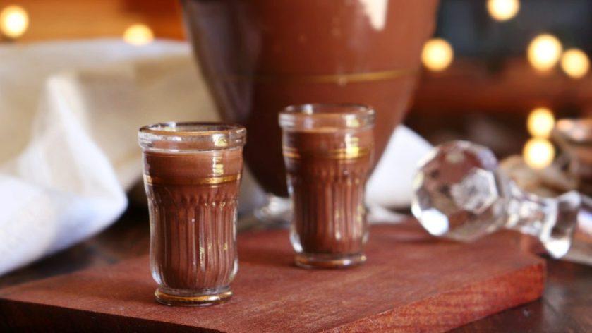 licor de chocolate casero facil