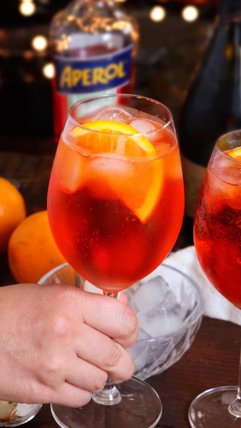 aperol spritz aperitivo italiano
