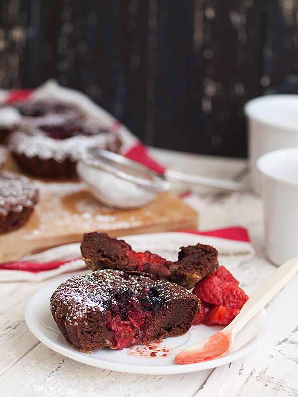 Brownie s jagodama