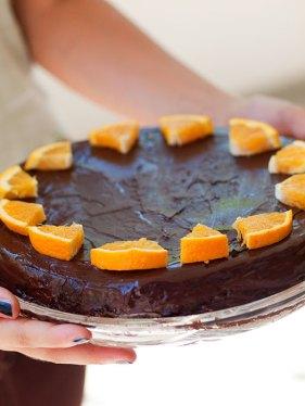 torta od čokolade i naranče