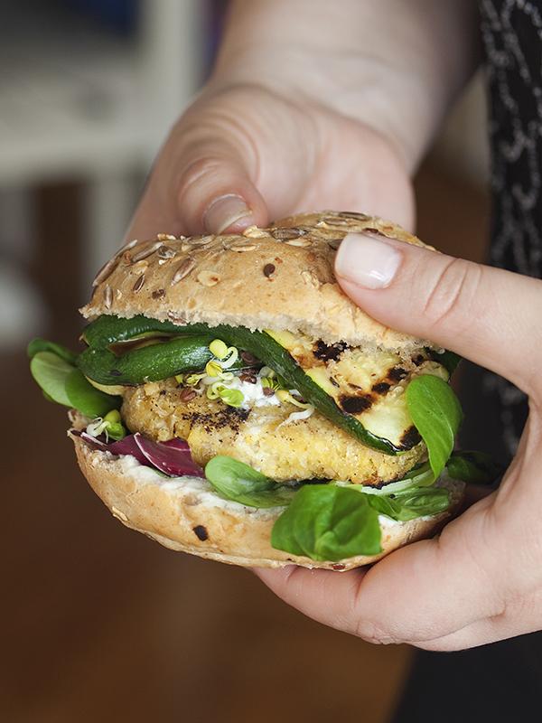 vegetarijanski burgeri od slanutka