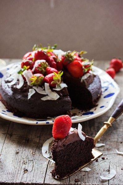 lchf torta - komad