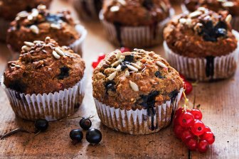Muffini od integralnog brašna i bez šećera