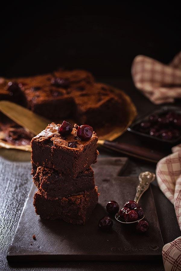 Brownie s višnjama