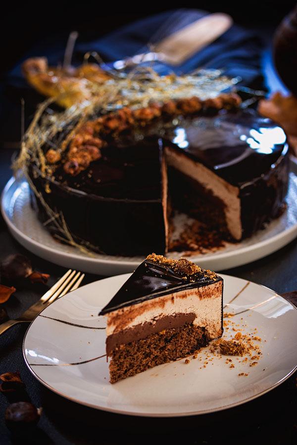 Torta od kestena - komad