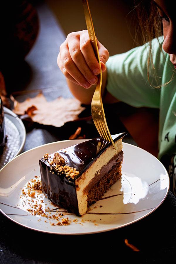 Mousse torta od kestena - komad