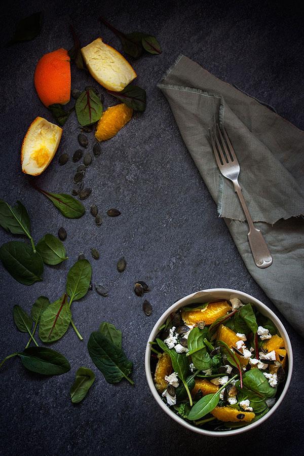 salata od blitve i špinata